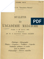Bulletin de l'Académie Malgache XII, 2 - 1913