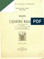 Bulletin de l'Académie Malgache V - 1920-21