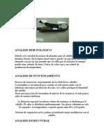Plancha Para El Cabello( Analisis)