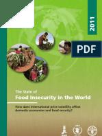 Relatório FAO Fome 2011