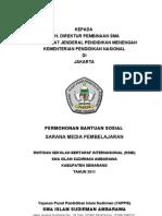 Proposal Bansos Sarana Media Pembelajaran 2011