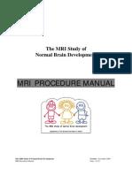 MRI Manual Nov06
