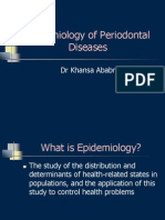 Epidemiology of Periodontal Diseases New 4