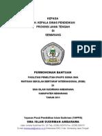 Proposal Penelitian IPA dan IPS 2010