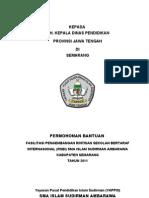 Fasilitasi Pengembangan RSBI