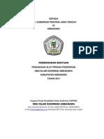 Proposal Bansos Pengadaan Alat Peraga Pendidikan 2011