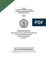 Proposal Bansos Pengadaan Peralatan Laboratorium Komputer 2011