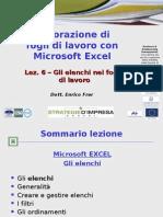 06 Excel Elenchi