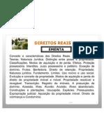 DIREITOS REAIS 2008 - UniverCidade