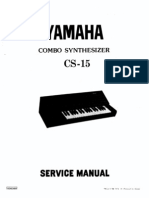 Analoghell.com YamahaCS15 Service Manual