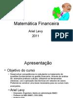 Gestão Financeira - marco zero