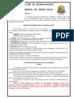 Manual Oficial de Ordem Unida Desbravadores