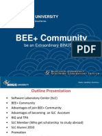 BEE+ Community - Slide