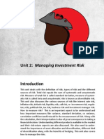 Risk & Return NCFM
