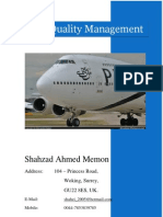 TQM in Pakistan International Airline