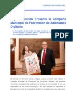 311011 Nota SERVICIOS SOCIALES_Adicciones Digitales
