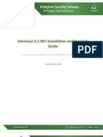 En.omnicast Installation and Upgrade Guide 4.5 SR1