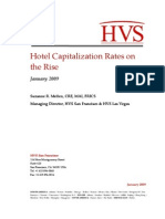 Hotel Capitalization Rates on the Rise[1]