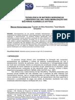 APLICAÇÃO BIOTECNOLÓGICA DE MATRIZES INORGÂNICAS