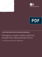 Ppp Managing Complex Capital Investment Programmes