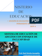 Educación Inclusiva-Prof.Raúl Sinche