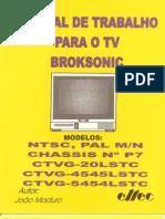 Manual Tv Broksonic Mod. Ctvg20lstc - 4545lstc - 5454lstc