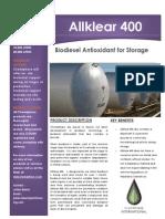 Allklear 400 1000 Product Brochure