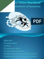 Corpotate Ethics (Gourav)