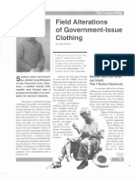Field Alterations of Government-Issue Clothing