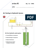 12-Air Venting in Hydraulic System