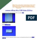 Manual Wifiway 0.6 y USB Zydas 1211b
