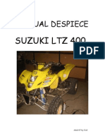 Suzuki Ltz 400 Manual de Despiece