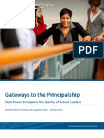 Gateways to the Principalship