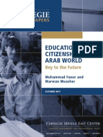 Education for Citizenship in the Arab Countries