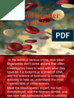 Blood Spatter Activity