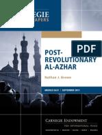 Post-Revolutionary Al-Azhar