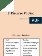 4. El Discurso Público