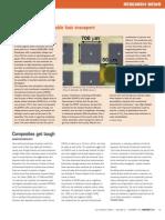 Nanoscale Pores Enable Fast Transport