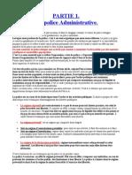Droit Administratif Partie 1. Chapitre 1