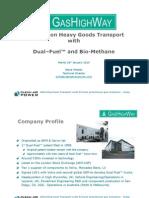 Microsoft Power Point - Gas Highway Steve Whelan