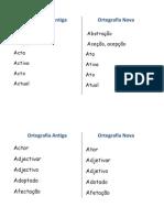 Ortografia Antiga