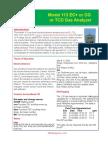 Model 113 EC+ or TCD or CG Analyzer 1207