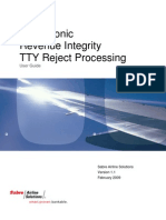 Sabre Sonic Revenue Integrity_TTY Reject Processing_User Guide v1_1