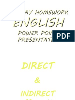 16812745 Direct and Indirect Speech
