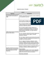 Requisitos Legales y Tecnicos