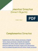 Direct Object Pronouns1