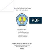 Laporan Operasi Teknik Kimia