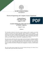 Tech Report NWU-EECS-11-09
