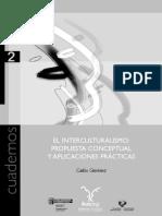 Interculturalismo-propuesta Conceptual y Practicas