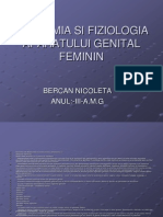 Anatomia Si Fiziologia Aparatului Genital Feminin
